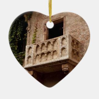 Juliet's Balcony Christmas Ornament