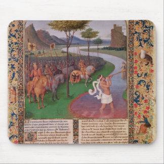 Julius Caesar  Crossing the Rubicon, c.1470 Mouse Pad