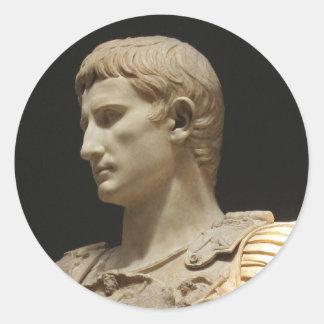 Julius Caesar image picture Classic Round Sticker