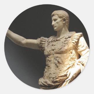 Julius Caesar Round Sticker