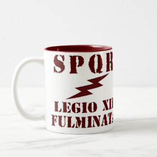 Julius Caesar's 12th Roman Legion Coffee Mug