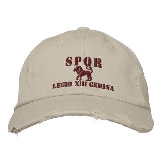 Julius Caesar's 13th Gemina Legion Embroidered Hats