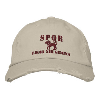 Julius Caesar's 13th Gemina Legion Embroidered Hat