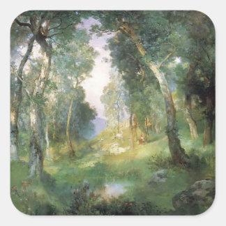 Julius LeBlanc Stewart-Forest Glade, Santa Barbara Stickers