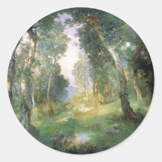 Julius LeBlanc Stewart-Forest Glade, Santa Barbara Sticker