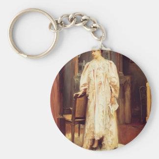 Julius LeBlanc Stewart- Lady In Her Boudoir Keychains