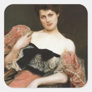 Julius LeBlanc Stewart- Portrait of a Lady Sticker