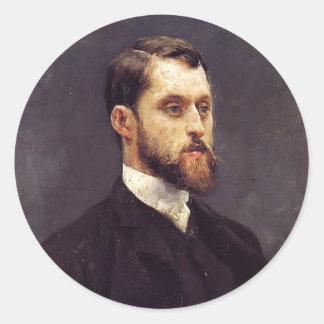 Julius LeBlanc Stewart- Self Portrait Stickers