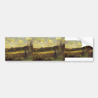 Julius LeBlanc Stewart- Summer's Promenade Bumper Stickers