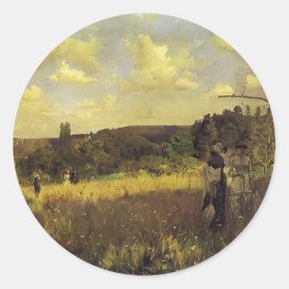 Julius LeBlanc Stewart- Summer's Promenade Stickers