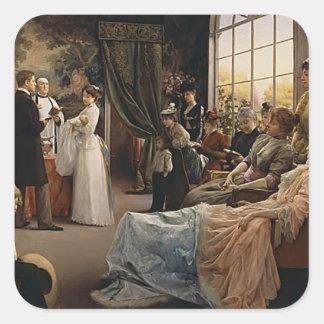 Julius LeBlanc Stewart- The Baptism Square Sticker