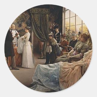 Julius LeBlanc Stewart- The Baptism Round Sticker