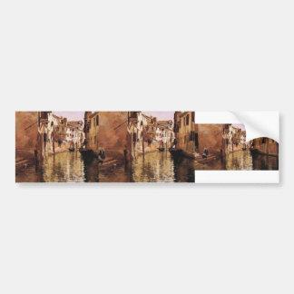 Julius LeBlanc Stewart- The Canal Bumper Sticker