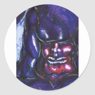 Julius Luna Round Sticker