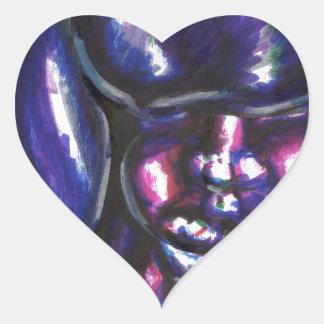 Julius Luna Heart Sticker