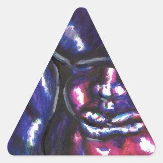 Julius Luna Triangle Sticker