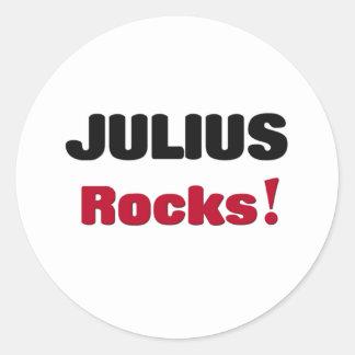 Julius Rocks Sticker