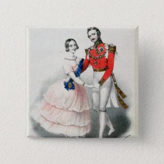 Jullien's Celebrated Polkas 15 Cm Square Badge
