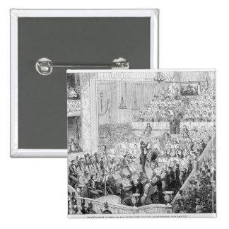 Jullien's Concert Orchestra 15 Cm Square Badge