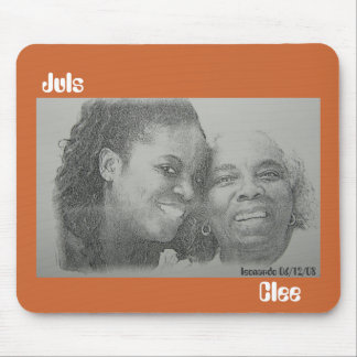 Juls And Clee Mouse Pad