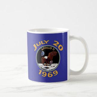 July 20, 1969 Apollo 11 Mission to the Moon Coffee Mug