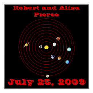 July 25, 2009 poster