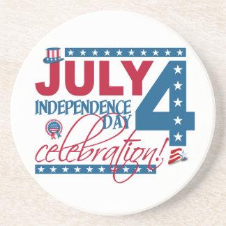 JULY 4 Celebration coaster