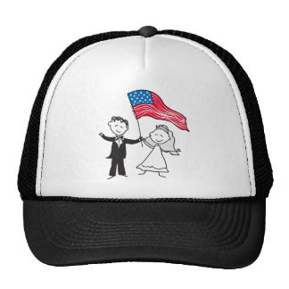 July 4 Wedding Gifts Hats