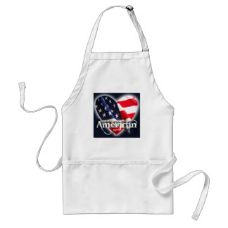 july 4th america party time! standard apron