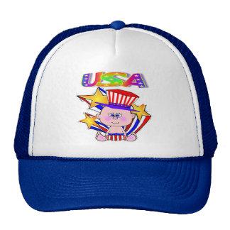 July 4th American Baby USA Trucker Hat