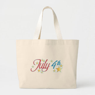 July 4th canvas bags