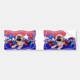 July 4th - Brussels Griffon - Oliver Bumper Stickers
