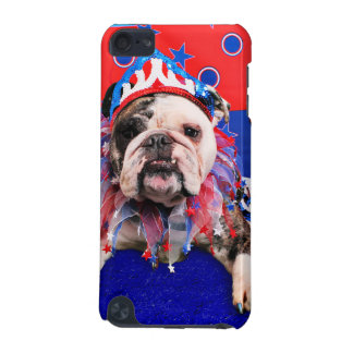 July 4th - Bulldog - Delilah iPod Touch 5G Cover