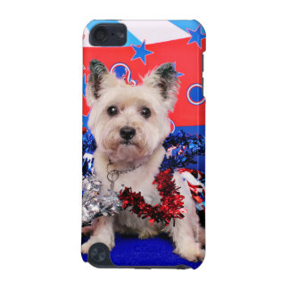 July 4th - Cairn Terrier - Roxy iPod Touch (5th Generation) Cover