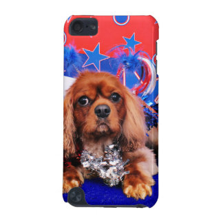 July 4th - Cavalier King Charles Spaniel - Cooper iPod Touch 5G Covers