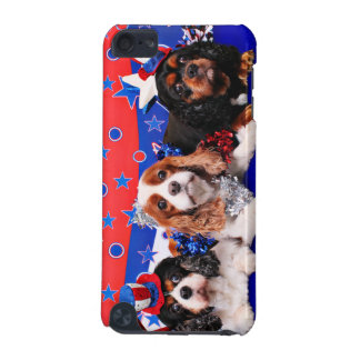 July 4th - Cavaliers - Rosie Poppy SweetPea iPod Touch 5G Cover