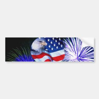 July 4th Celebration_ Bumper Sticker