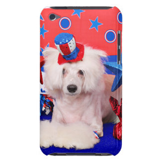 July 4th - Chinese Crested - Dash iPod Touch Cover