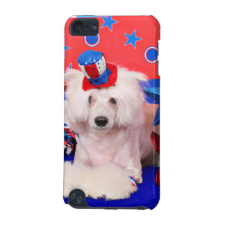 July 4th - Chinese Crested - Dash iPod Touch (5th Generation) Cover