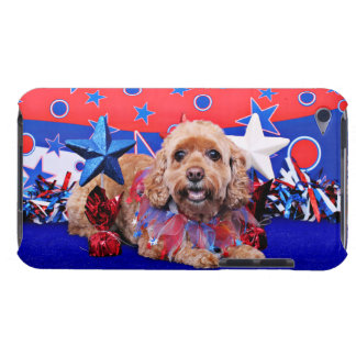 July 4th - Cockapoo - Sophie iPod Touch Cases