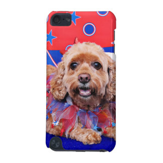 July 4th - Cockapoo - Sophie iPod Touch (5th Generation) Case