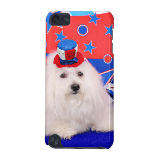 July 4th - Coton de Tulear - Claire iPod Touch (5th Generation) Case