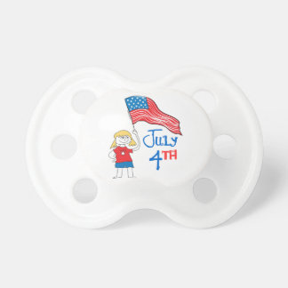 July 4th pacifiers