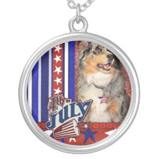 July 4th Firecracker -Australian Shepherd -Dustine Jewelry