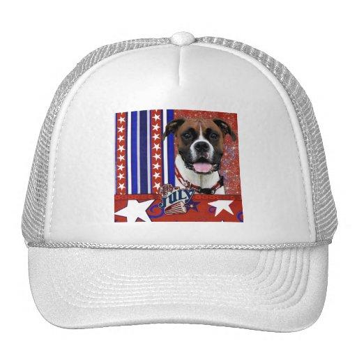 July 4th Firecracker - Boxer - Vindy Mesh Hats