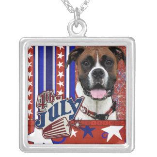 July 4th Firecracker - Boxer - Vindy Custom Jewelry