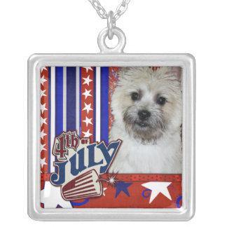 July 4th Firecracker - Cairn Terrier - Teddy Bear Jewelry