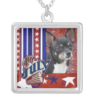 July 4th Firecracker - Chihuahua - Isabella Pendant