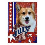 July 4th Firecracker - Corgi