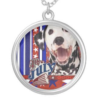 July 4th Firecracker - Dalmatian Custom Necklace